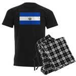 El Salvador Men's Dark Pajamas