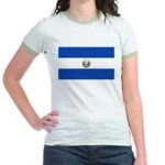 El Salvador Jr. Ringer T-Shirt