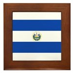 El Salvador Framed Tile