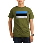 Estonia Organic Men's T-Shirt (dark)