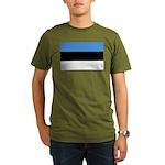 Estonia Organic Men's T-Shirt (dark)