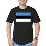 Estonia Men's Fitted T-Shirt (dark)