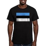 Estonia Men's Fitted T-Shirt (dark)