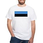 Estonia White T-Shirt