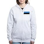 Estonia Women's Zip Hoodie