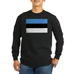 Estonia Long Sleeve Dark T-Shirt