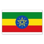 Ethiopia Sticker (Rectangle 50 pk)