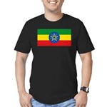 Ethiopia Men's Fitted T-Shirt (dark)