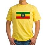 Ethiopia Yellow T-Shirt