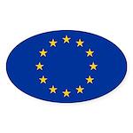 European Union Sticker (Oval 10 pk)