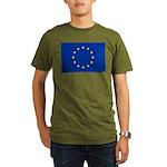 European Union Organic Men's T-Shirt (dark)