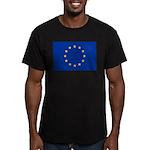 European Union Men's Fitted T-Shirt (dark)