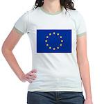 European Union Jr. Ringer T-Shirt