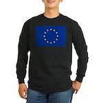 European Union Long Sleeve Dark T-Shirt