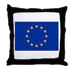 European Union Throw Pillow
