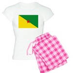French Guiana Women's Light Pajamas