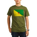 French Guiana Organic Men's T-Shirt (dark)