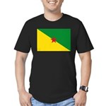 French Guiana Men's Fitted T-Shirt (dark)
