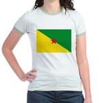 French Guiana Jr. Ringer T-Shirt
