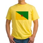 French Guiana Yellow T-Shirt