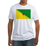 French Guiana Fitted T-Shirt