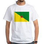 French Guiana White T-Shirt
