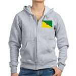 French Guiana Women's Zip Hoodie