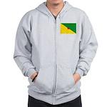 French Guiana Zip Hoodie