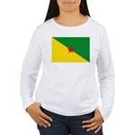 French Guiana Women's Long Sleeve T-Shirt