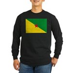 French Guiana Long Sleeve Dark T-Shirt