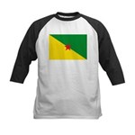 French Guiana Kids Baseball Jersey