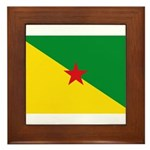 French Guiana Framed Tile