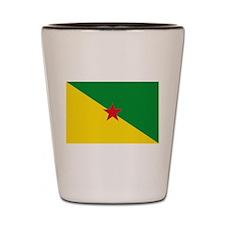 French Guiana Shot Glass