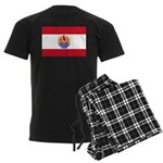 French Polynesia Men's Dark Pajamas