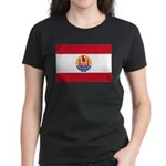 French Polynesia Women's Dark T-Shirt
