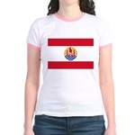 French Polynesia Jr. Ringer T-Shirt