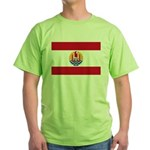 French Polynesia Green T-Shirt