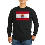 French Polynesia Long Sleeve Dark T-Shirt