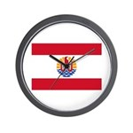 French Polynesia Wall Clock