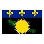 Guadeloupe Sticker (Rectangle 50 pk)