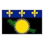 Guadeloupe Sticker (Rectangle 10 pk)