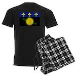 Guadeloupe Men's Dark Pajamas