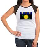 Guadeloupe Women's Cap Sleeve T-Shirt