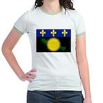 Guadeloupe Jr. Ringer T-Shirt