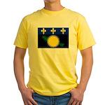 Guadeloupe Yellow T-Shirt