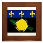 Guadeloupe Framed Tile