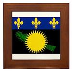 Guadeloupe Framed Tile