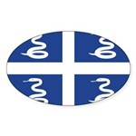 Martinique Sticker (Oval 10 pk)