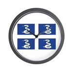 Martinique Wall Clock
