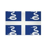 Martinique Rectangle Magnet (10 pack)